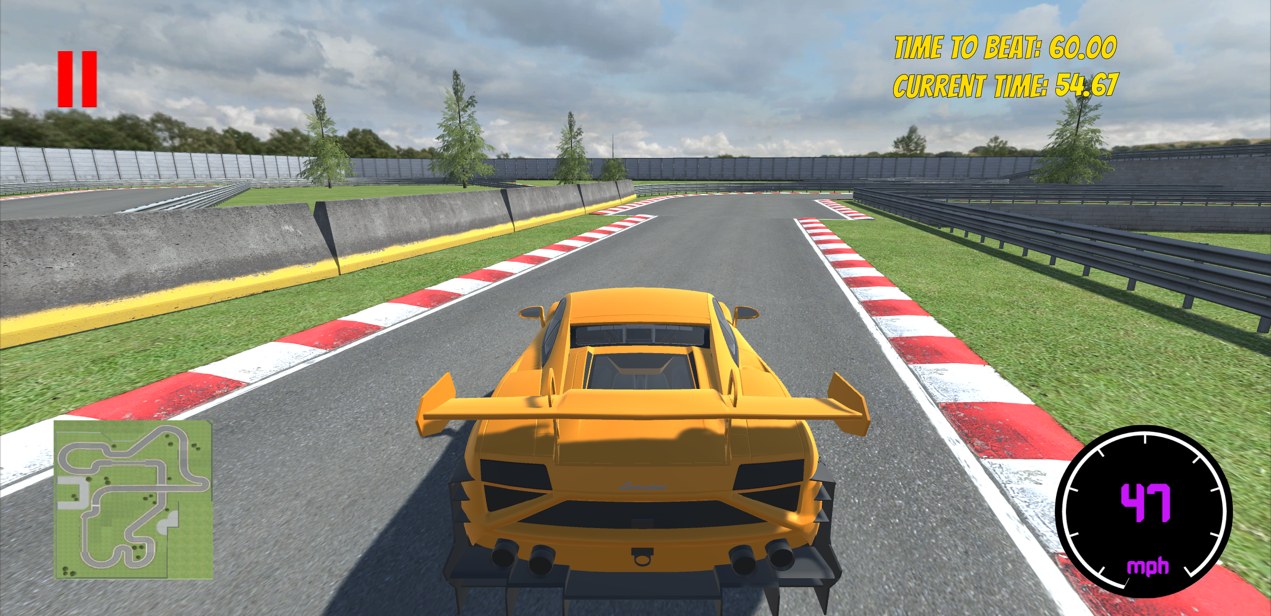 Racer Screen